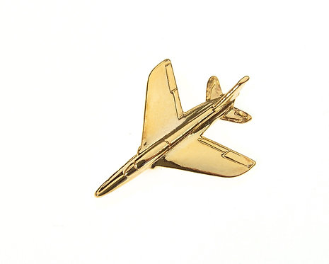 Folland Gnat Gold Plated Tie / Lapel Pin