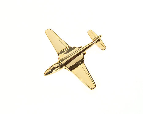 Hawker Sea Hawk Gold Plated Tie / Lapel Pin Sea Hawk