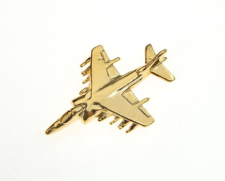 Harrier GR7 Gold Plated Tie / Lapel Pin