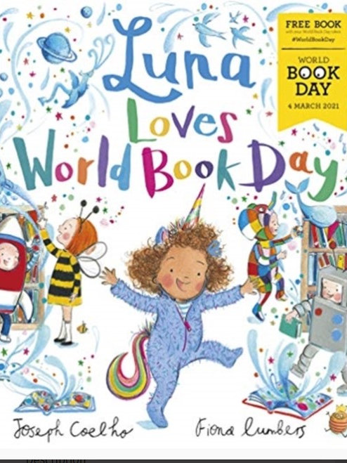 World Book  Day 2021 Luna Loves World Book Day