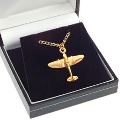 Spitfire Pendant Gold Plated