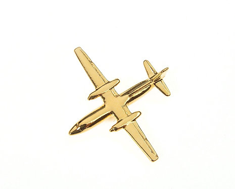 Fokker 27/50 Gold Plated Tie / Lapel Pin