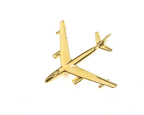 B47 Stratojet Gold Plated Tie / Lapel Pin