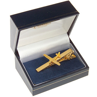 Cessna 150 / 172 Tie Bar / Clip Gold Plated