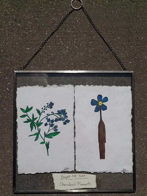Forget-Me-Not: Cherished Moments