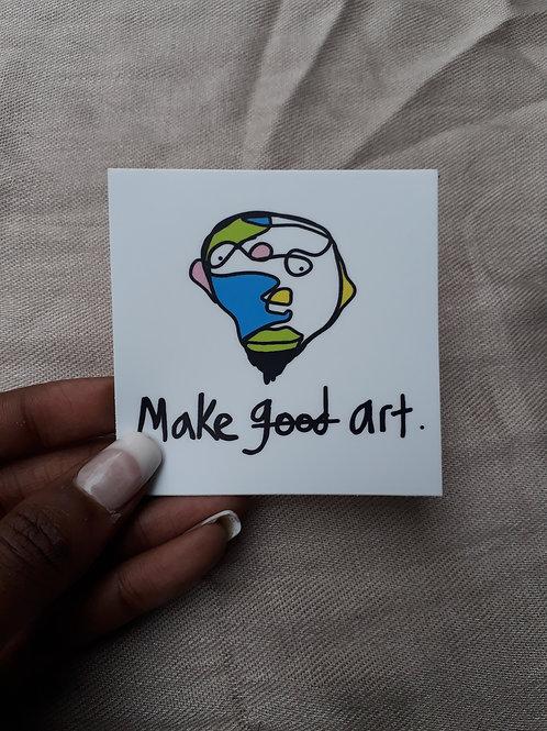 Make Art Stickers