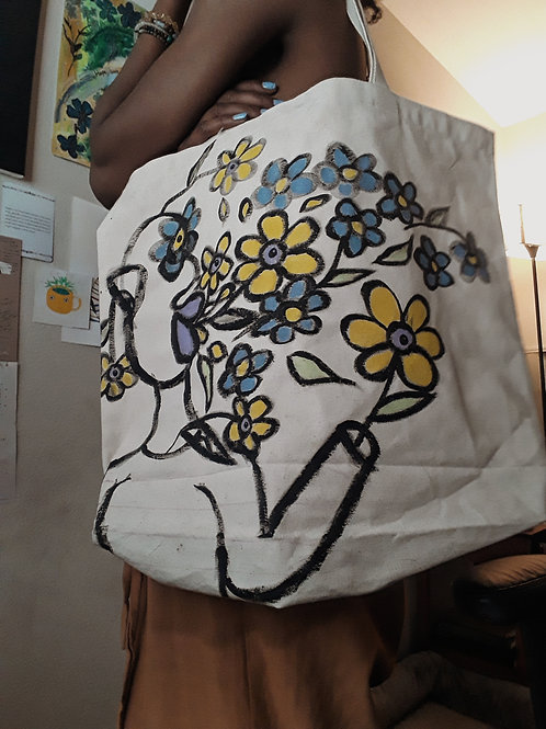 Hand Painted Tote Bags *Preorder Only*