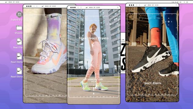 Nike React - Explore your city