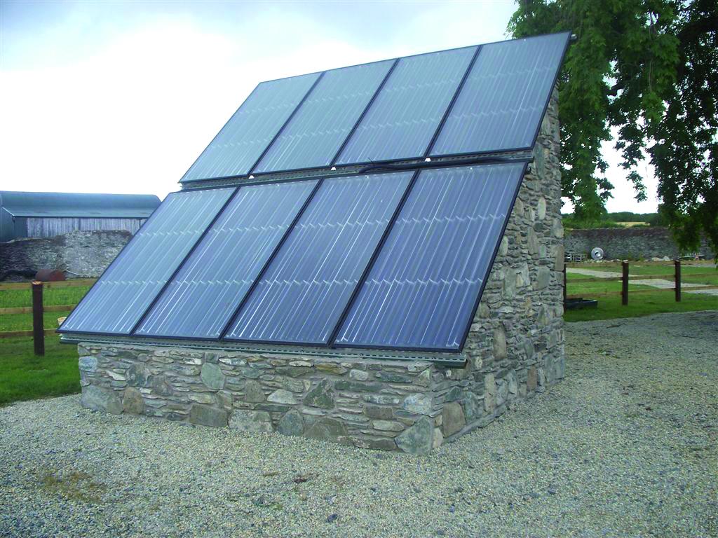 Irland Solaranlage Juli 2010