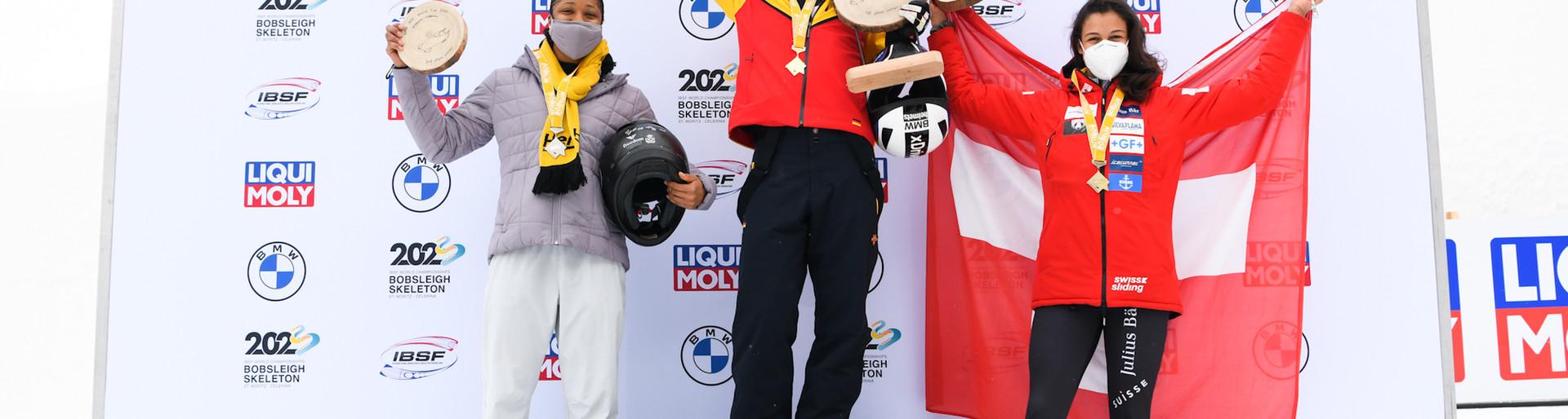 3. Rang am Heim Weltcup St. Moritz