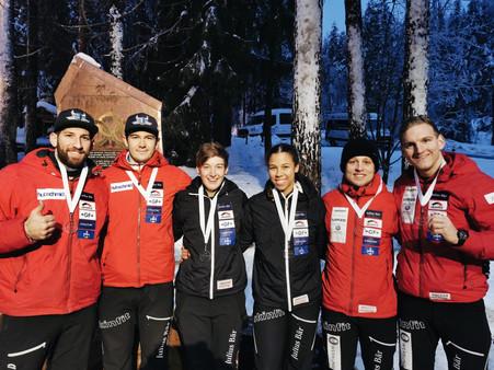 Team Rohner, Hasler und Kuonen - Europa Cup Lillehammer