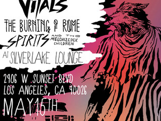 THE VITALS WEST COAST TOUR AND LA SHOW