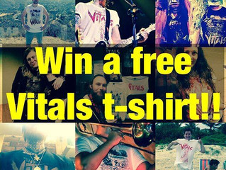 Win A New Vitals T-Shirt!