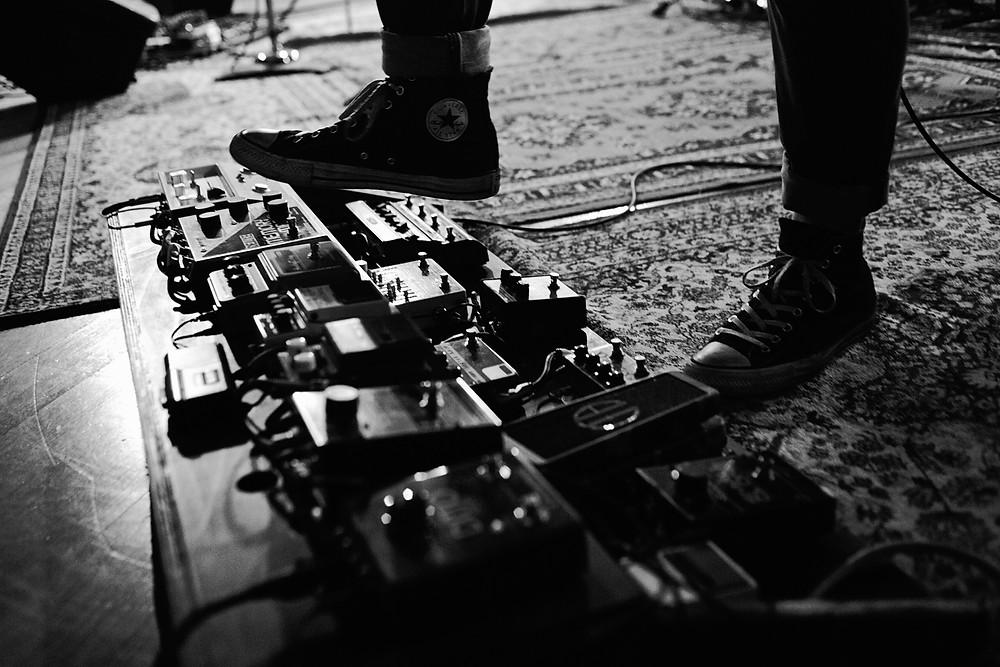 the vitals, on air with org, los angeles, henrik linde, pedal board