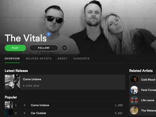 The Vitals On Spotify