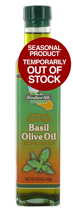 California Extra Virgin Basil Olive Oil