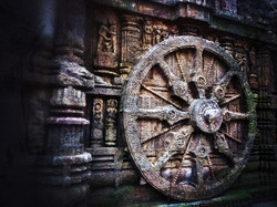 Canva - Brown Carriage Wheel