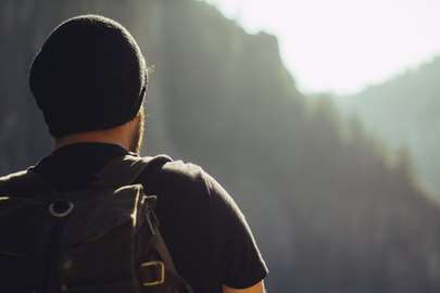 Canva - Hiker with Backpack in Nature.jp