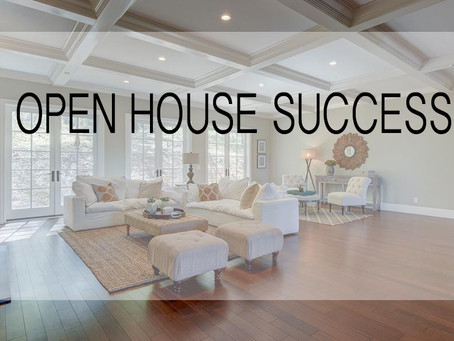 How to Hold A Successful Open House - Open House 101