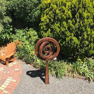 Graham Cook & Heather Rae, Wellington, NZ. Variable Circles