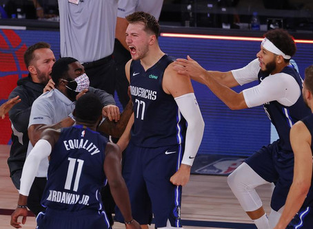 Doncic Dominating in Dallas.
