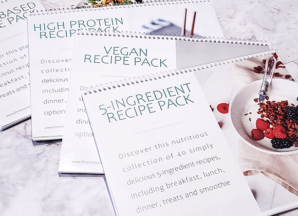 Meal Planning Recipe Packs
