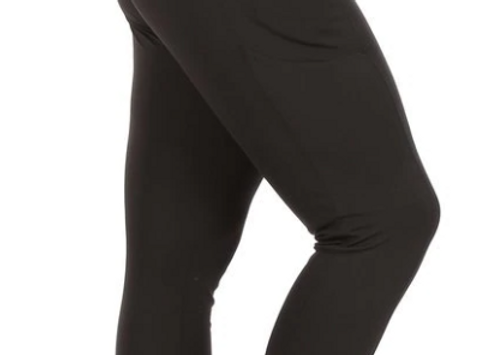 High Waisted Sports Leggings with Side Pockets