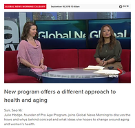 Julie Hodge Proaging interview Global Ne