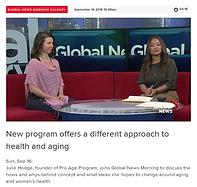 Julie Hodge Proaging interview Global Ne