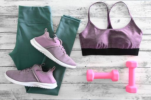 Womens active clothes (leggings, bra) fo