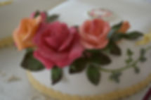 Stars 21st Birthday cake