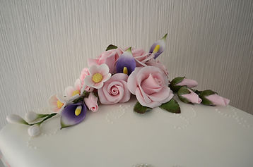 Hand made sugar flowers