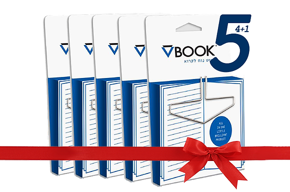 VBOOK BOOKMARK 5 units PACK