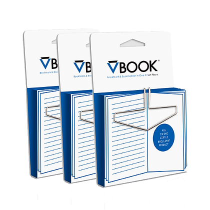VBOOK BOOKMARK 3 units PACK