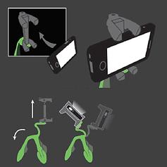 Gekkopod Unique Mobile Clip