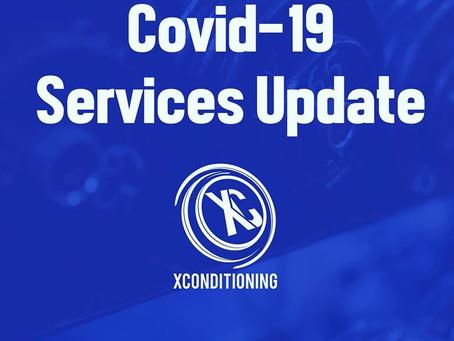 COVID-19 GYM UPDATES