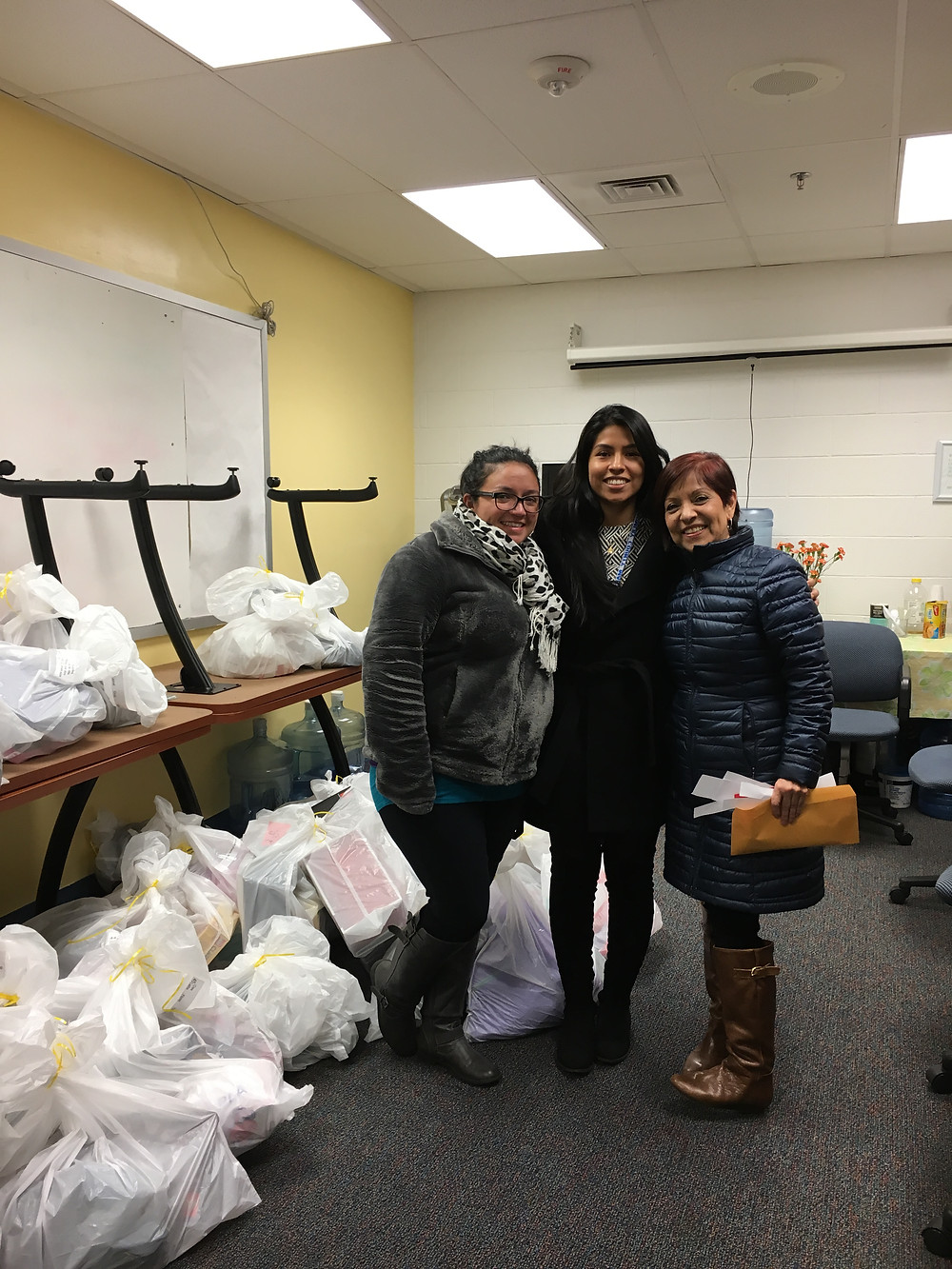 B-CC Crew Delivers  Toys and Gift Cards  for MCPS Families  to Linkages to Learning Staff