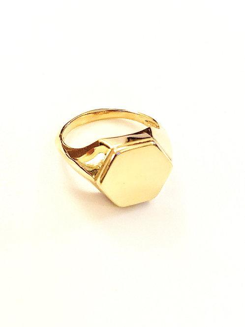 טבעת בי ריי זהב
