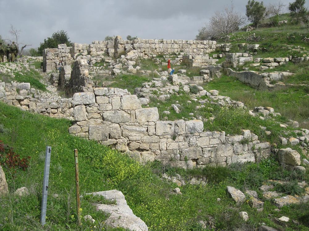 King Omri and King Ahab's palace