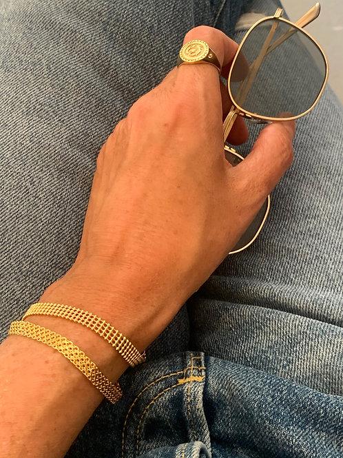 צמיד נטי מצופה זהב