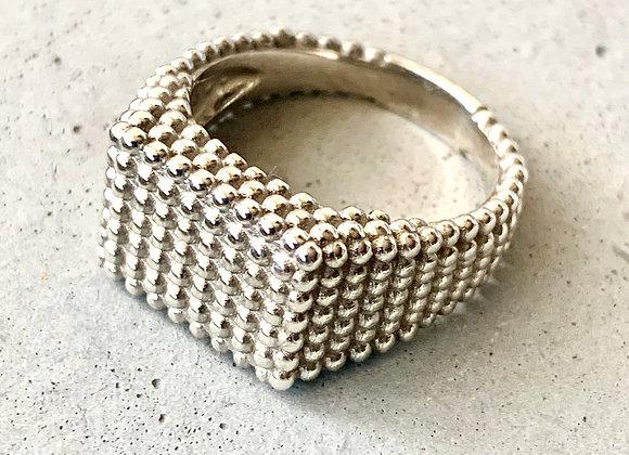 טבעת לורי כסף