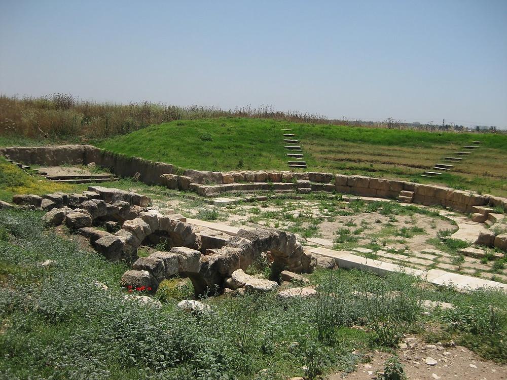 The odeon at Tel Afek