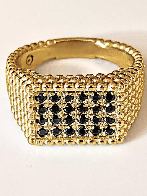 טבעת מירה זהב