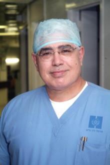 Prof Ahmend Eid, Head of Surgery at Hadassah Hospital. (courtesy of Haddasah)