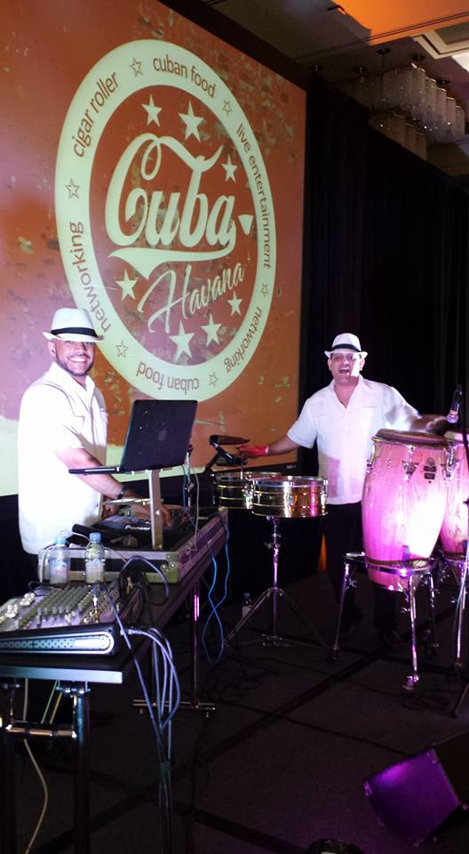 CUBAN DJ / DRUMMER DUO