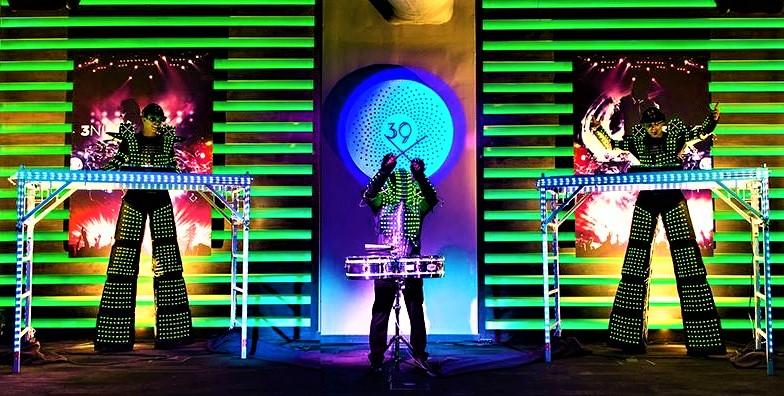 LUMITRON DUELING DJS
