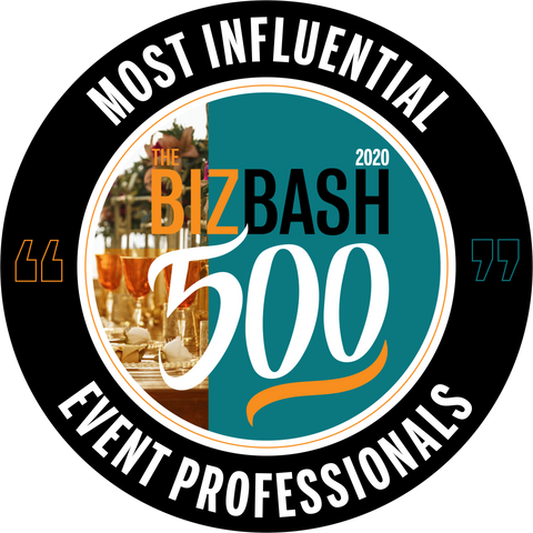 "Founder Krislyn Rojas featured in ""2020 BizBash 500"" list of Most Influential Event Professionals!"