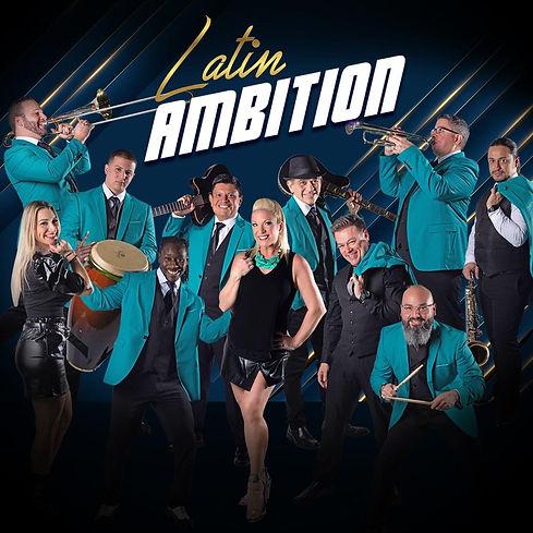 Latin Ambition Band Promo 2021 square bl