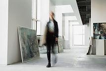 Marcher dans la Galerie