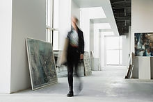 Walking In Gallery